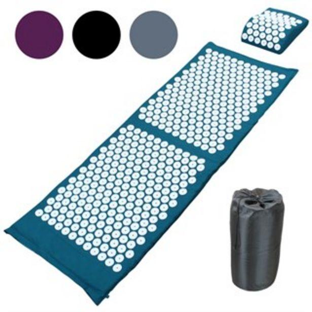 Tapis d'acupression 130 x 50 cm bleu offre à 49,9€
