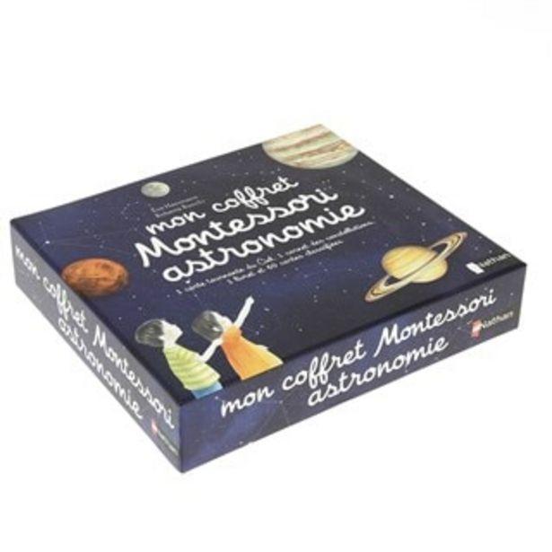 Mon coffret Montessori astronomie offre à 22,9€