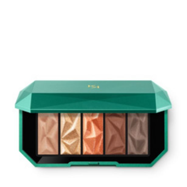 Holiday gems  gorgeous eyeshadow palette offre à 8,5€