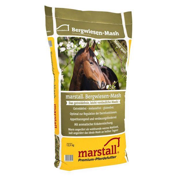Marstall Bergwiesen-Mash Mash des prés de montagne pour cheval - 2 x 12,5 kg offre à 54,99€