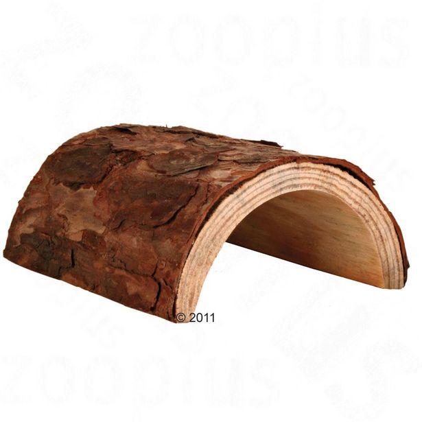 Tunnel en bois pour rongeur taille M L20xl17xH7,5cm - Accessoire pour rongeur offre à 3,99€