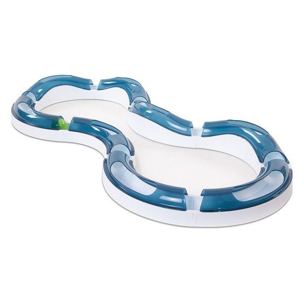 Circuit de jeu Catit Design Senses Super Roller pour chat - 2 balles lumineuses Catit de rechange (coloris : vert) offre à 5,99€