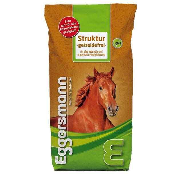 2x15kg Nourriture pour cheval sans céréales Eggersmann Struktur offre à 41,99€