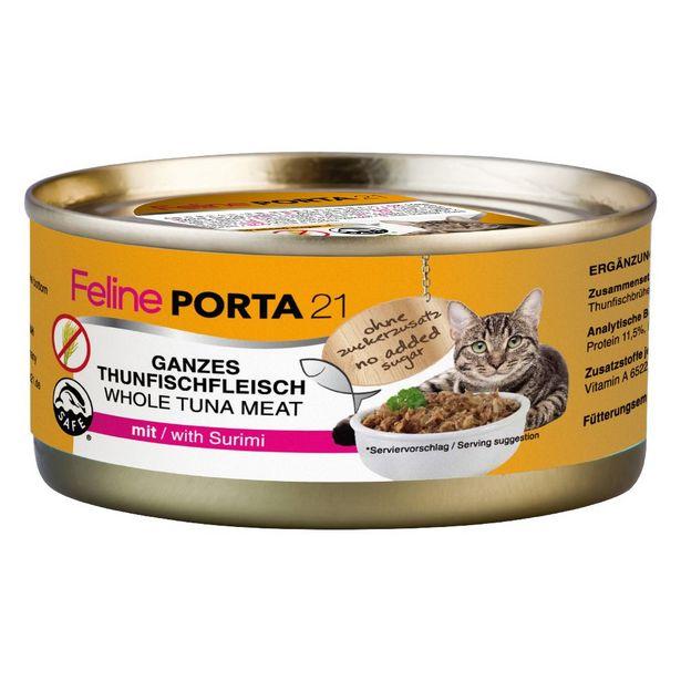 6x156g thon / sprat Porta 21 - Nourriture pour Chat offre à 10,49€