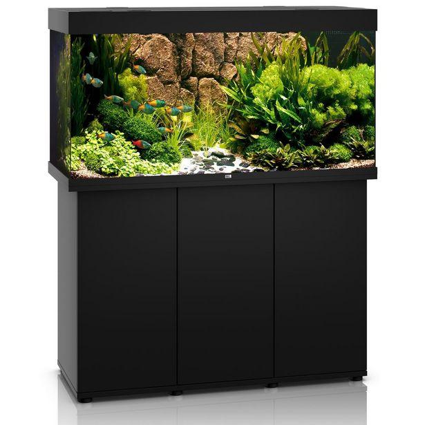 Ensemble aquarium/sous-meuble Juwel Rio 300 SBX - bois foncé offre à 819,99€