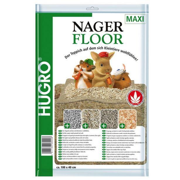 Nagerfloor Tapis de chanvre pour rongeur - 1 tapis : L 50 x l 120 cm offre à 10,99€