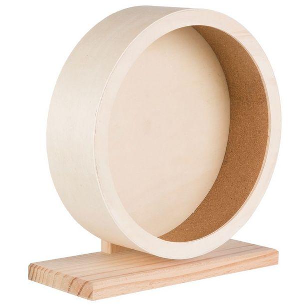 Roue en bois Trixie pour rongeur - 21 cm de diamètre offre à 11,49€