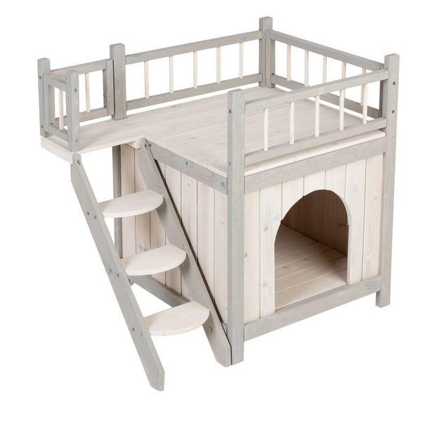 Maisonnette Prince pour chat - L 70 x l 49 x H 65 cm offre à 52,99€