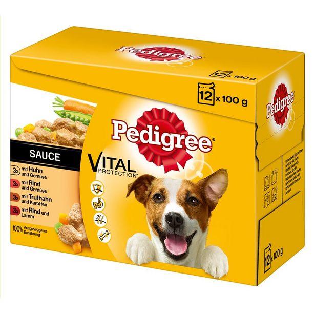 96x100g Sachets en terrine Pedigree - Nourriture pour chien offre à 31,99€