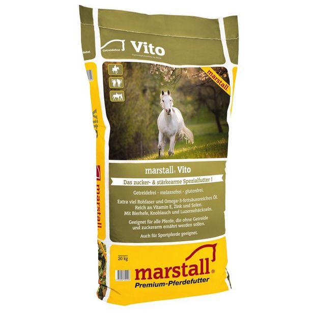 20kg Marstall Vito Muesli pour cheval offre à 29,99€