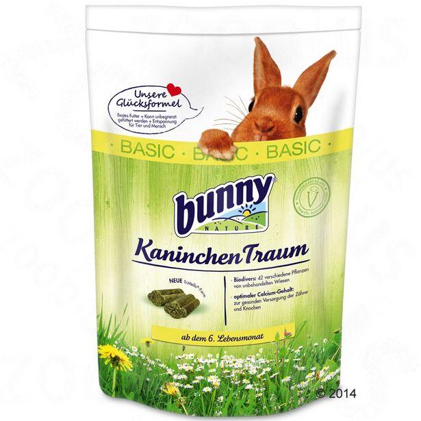 4kg BASIC Bunny Rêve Nourriture pour lapin nain offre à 25,99€