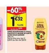 Apris shampoing ultra Doux Garnier  offre à 1,88€