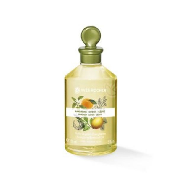 Huile Corps Mandarine Citron Cèdre offre à 7,75€