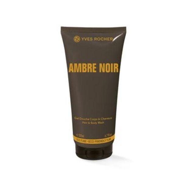 Ambre Noir - Gel Douche Corps et Cheveux offre à 6€