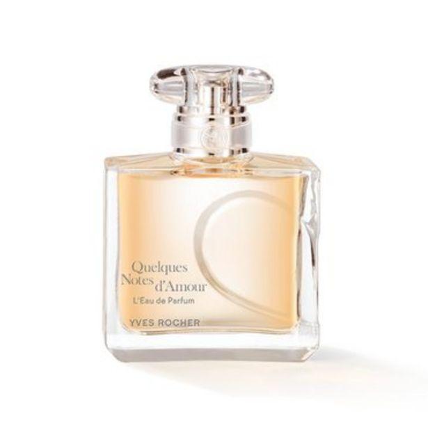 Quelques Notes d'Amour - L'Eau de Parfum 50ml offre à 34,95€
