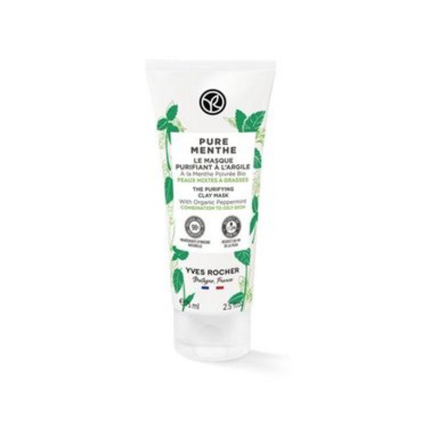 Le Masque Purifiant à l'Argile Pure Menthe offre à 9,95€