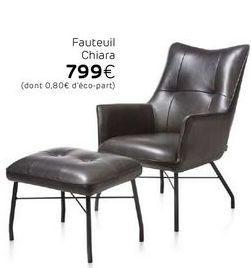 Fauteuil offre à 799€