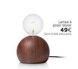 Lampe offre à 49€