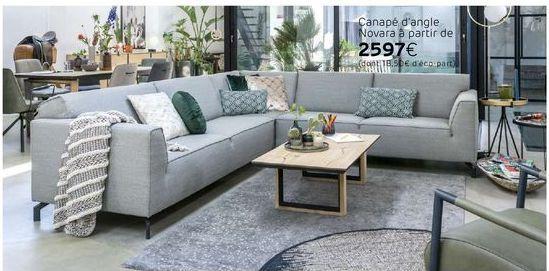 Canapé offre à 2597€