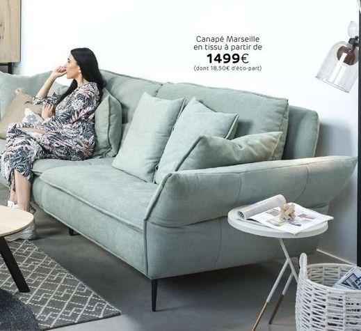 Canapé offre à 1499€