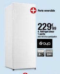 Réfrigérateur Aya offre à 229,99€