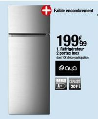 Réfrigérateur Aya offre à 199,99€