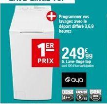 Lave-linge Aya offre à 249,99€