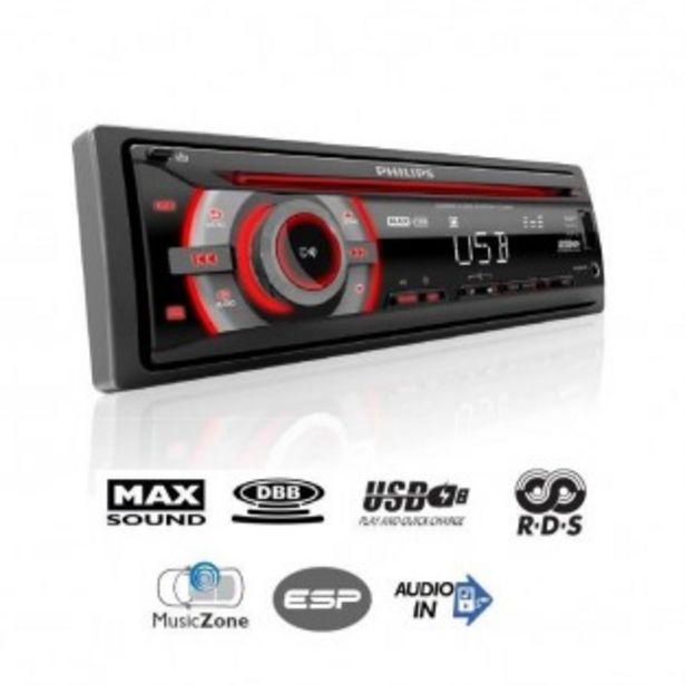 AUTORADIO PHILIPS CEM2200 offre à 29,99€