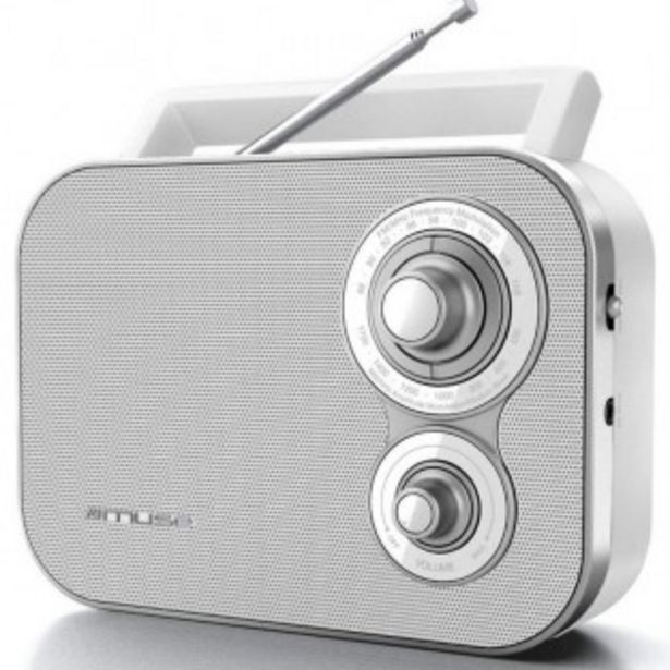 RADIO FM MUSE M-051 RW offre à 9,99€