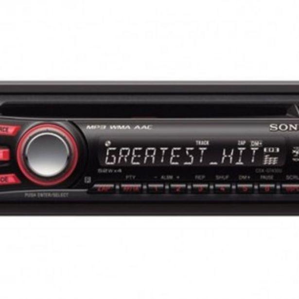 AUTORADIO CD/USB/AUX SONY CDX-GT430U offre à 35,99€