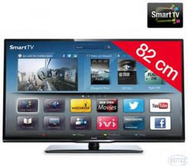 "TV LED 32"" PHILIPS 32PFL3208H offre à 139,99€"
