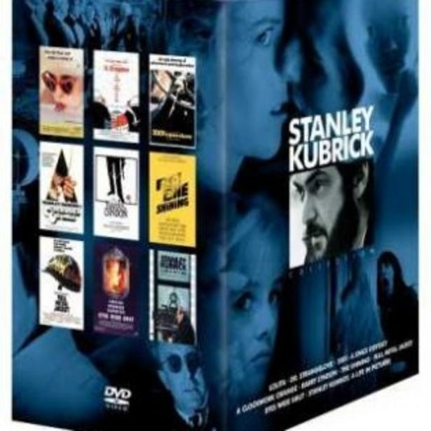 DVD STANLEY KUBRICK COLLECTION offre à 39,99€