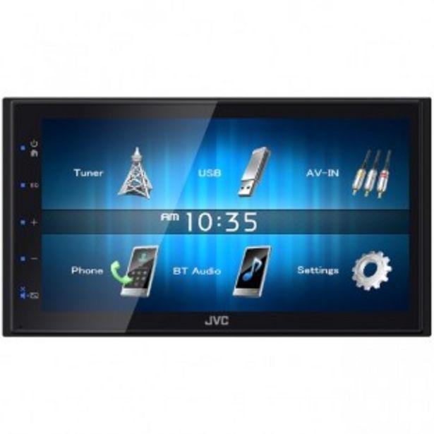 AUTORADIO JVC KW-M25BT offre à 79,9€
