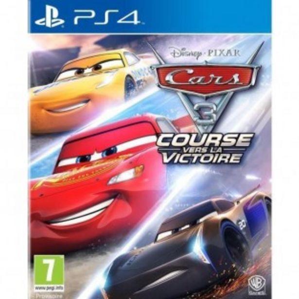 JEU PS4 CARS 3 : COURSE VERS LA ... offre à 11,99€