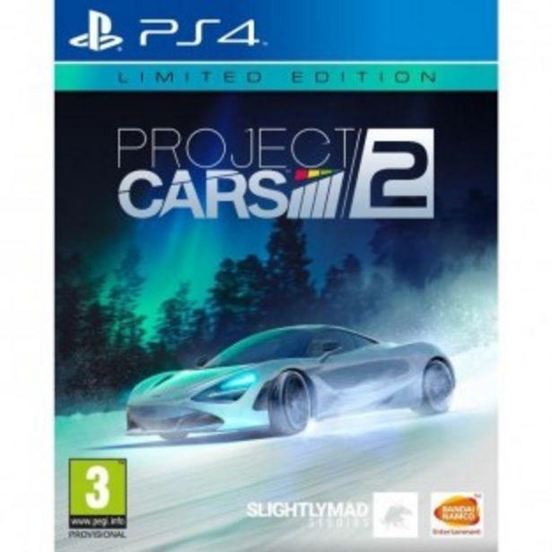 JEU PS4 PROJECT CARS 2 EDITION LIMITEE offre à 15,99€