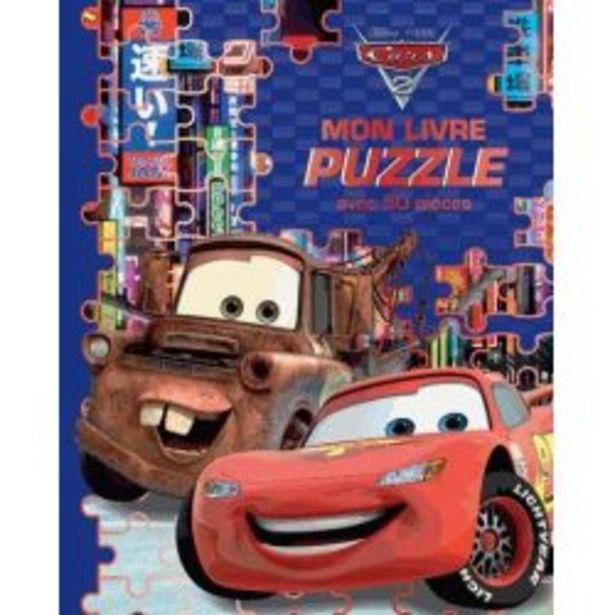 Cars 2 - Mon Livre Puzzle Avec 50 Pièces offre à 8€