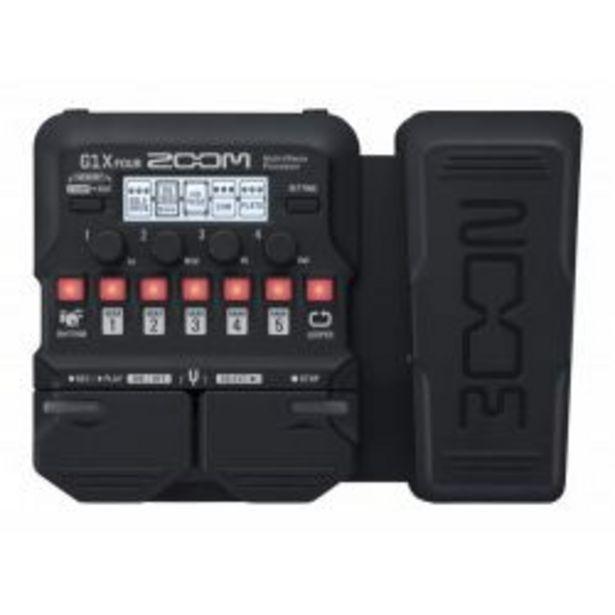 Zoom G1X Four - Pedale d effets offre à 49,99€