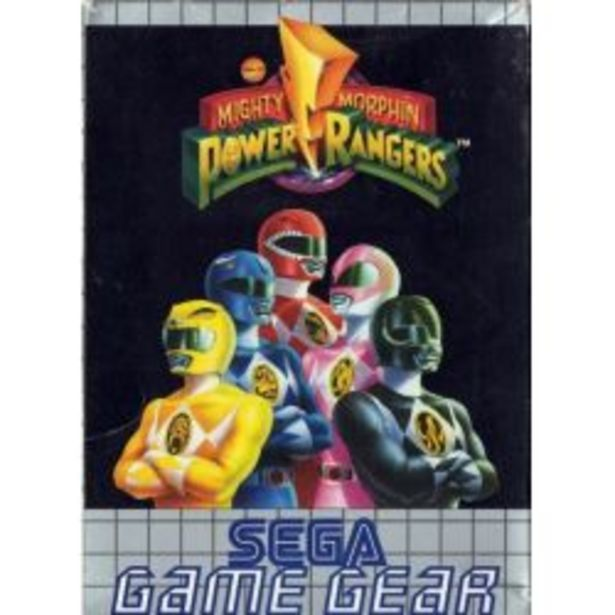 Mighty Morfin  Power Rangers - Game Gear offre à 10€