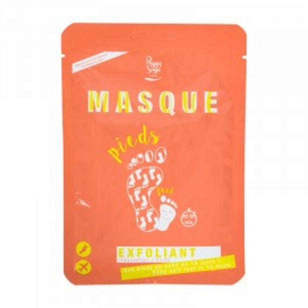 Masque exfoliant pieds offre à 10,5€
