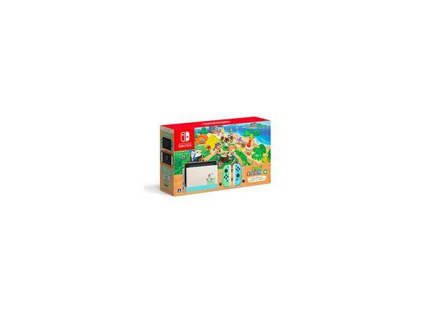 Console NINTENDO Switch Animal Crossing 32 Go + 2 Joy Con Blanc Vert offre à 379,99€