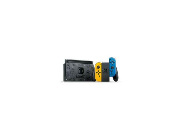 Console NINTENDO Switch Fortnite Special Edition Noir + 2 Joy Con Jaune & Bleu offre à 319,99€