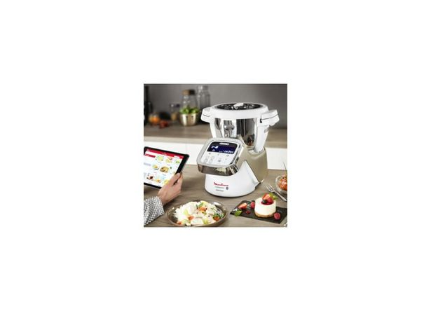 Robots de cuisine MOULINEX I-Companion XL Connect Blanc offre à 598,99€