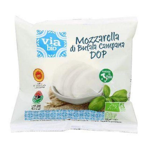 Mozzarella Di Bufala 125 G Via Bio offre à 3,02€