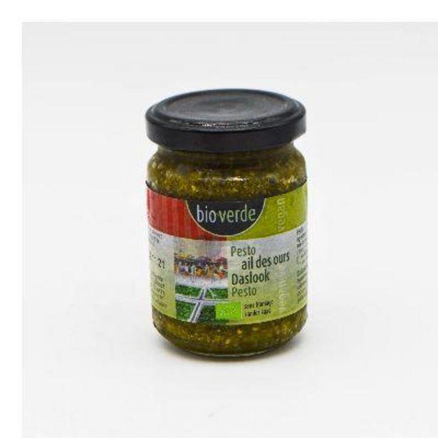 Pesto à L\'Ail Des Ours Végan, 125 Ml offre à 3,28€