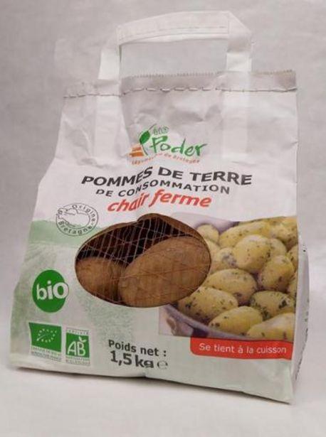 Pomme De Terre Bio Sac 1.5 Kg offre à 3,5€