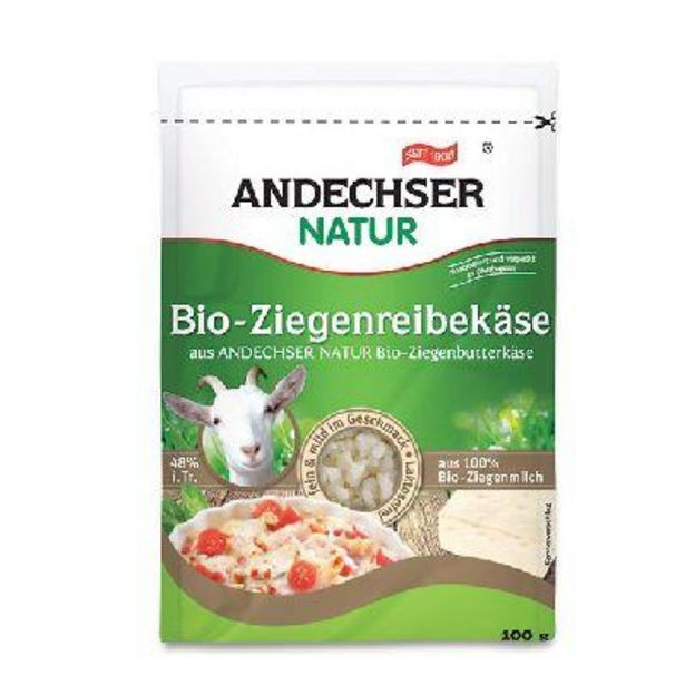 From. Chevre Rape 100 G Andechser offre à 2,13€