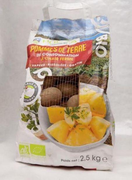 Pomme De Terre Bio Sac 2.5 Kg offre à 5,99€