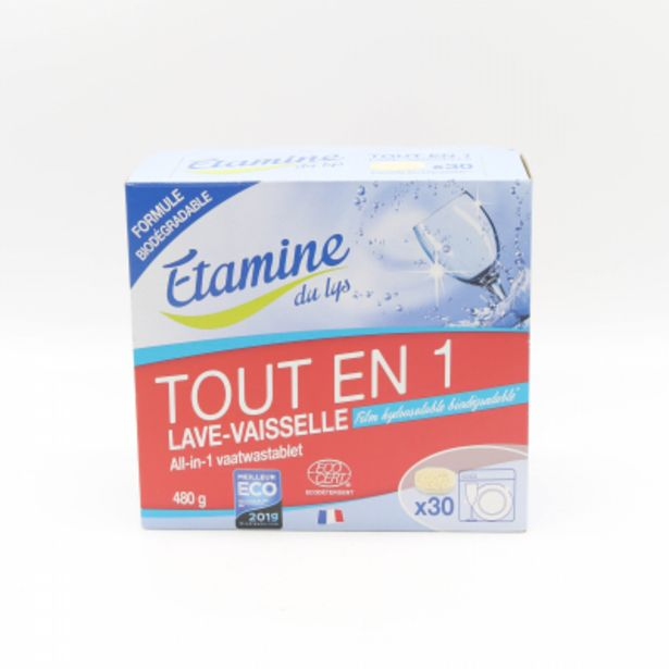 Tablettes lave-vaisselle Tout en 1 - 30 unités offre à 8,05€