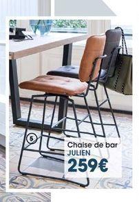 Chaise de bar offre à 259€
