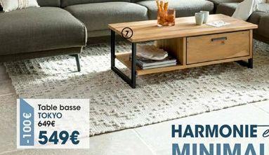 Table basse offre à 549€